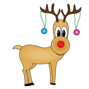 Holidays clipart reindeer. Free holiday clip art