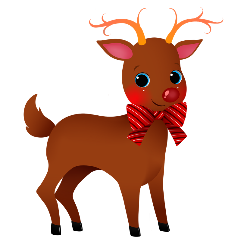 Holidays clipart reindeer. Christmas free cliparts for
