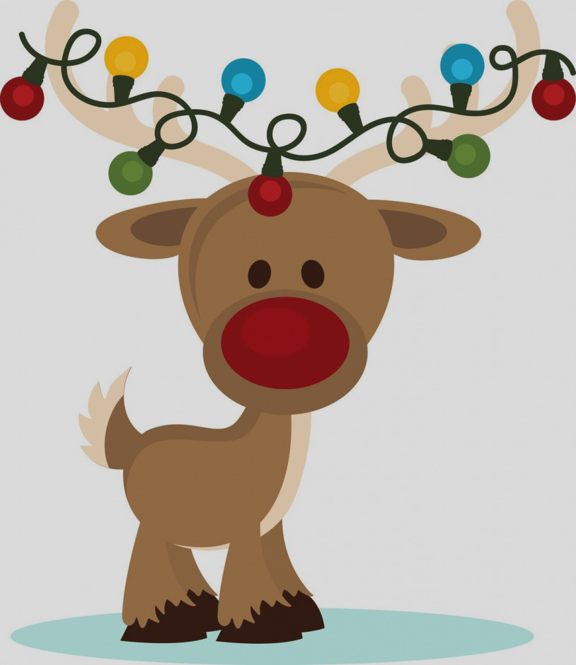 Holidays clipart reindeer. Awesome clip art cute