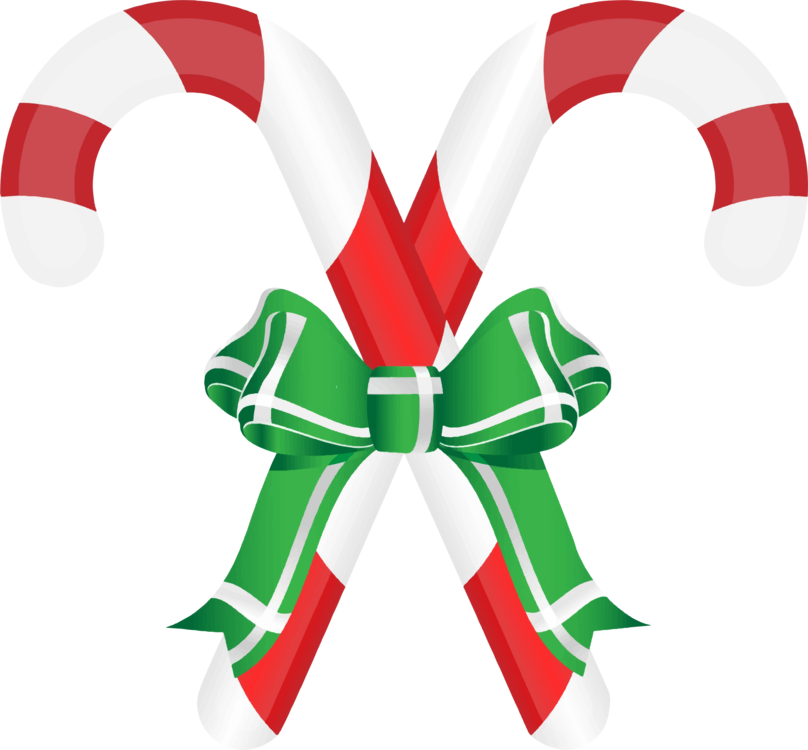 Holidays clipart sweet. Candy cane ribbon stick
