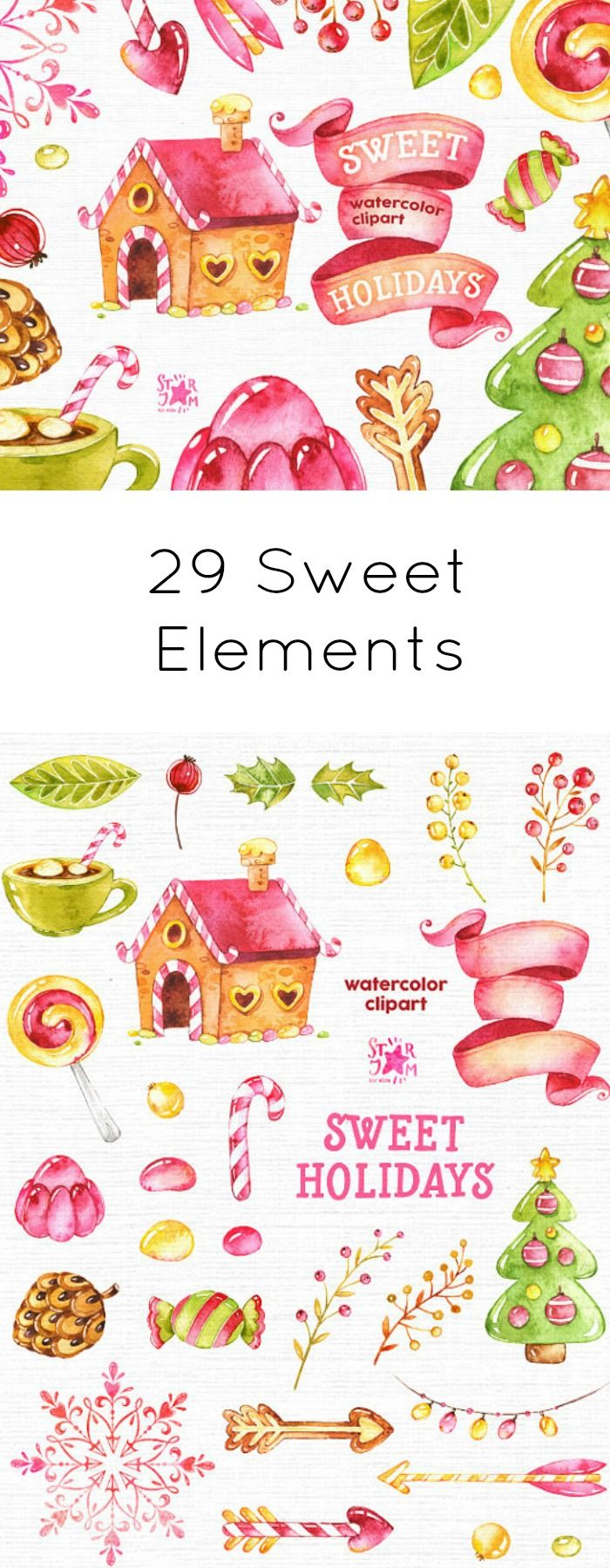 Holidays clipart sweet. Best lollies images