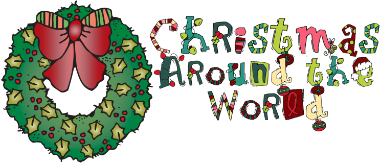 Holidays clipart tradition. Around the world scavenger