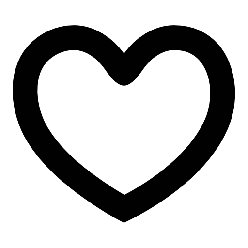 Hollow heart png. Shaped symbol image royalty