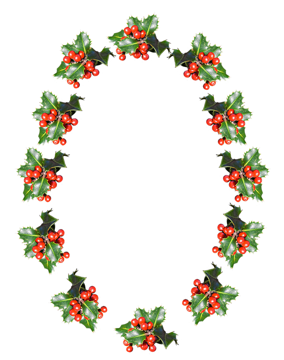 Christmas dividers png. Clip art borders frame