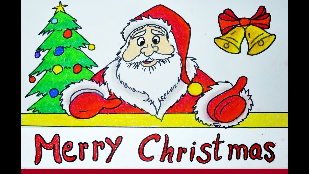 Holly clipart easy. Merry christmas drawing images