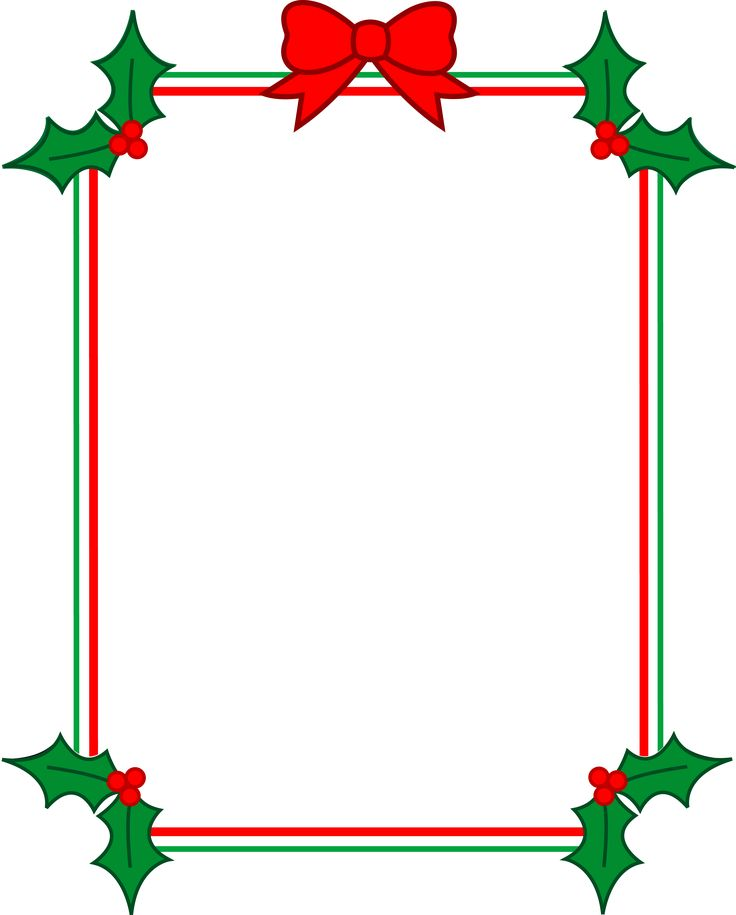 Xmas clipart boarder. Best christmas clip