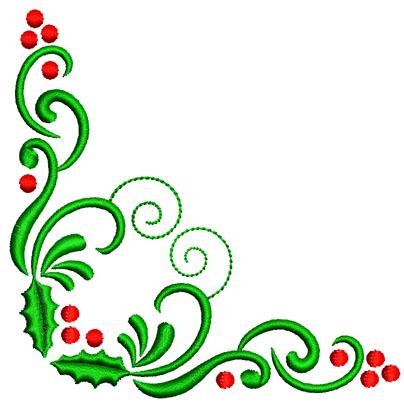 Holly clipart easy. Christmas at getdrawings com