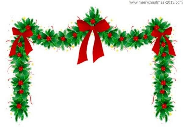 Christmas clipart. Border free clip art