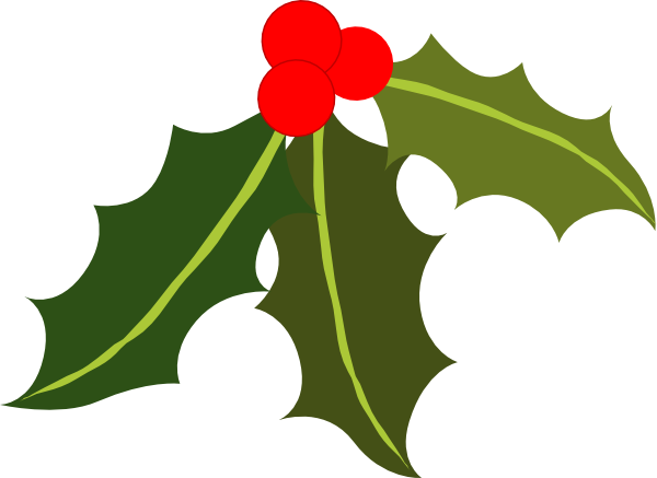Holly clipart png. Clip art at clker