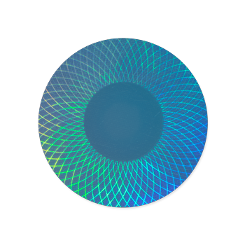 Holographic sticker png. Custom holograms right for