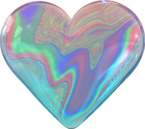 Holographic sticker png. Heart tumblr heartstickers loveyou