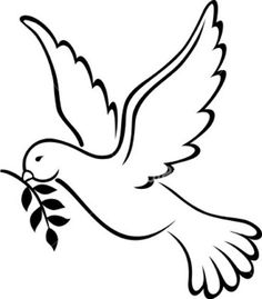 Spirit clipart funeral. Holy dove pictures panda