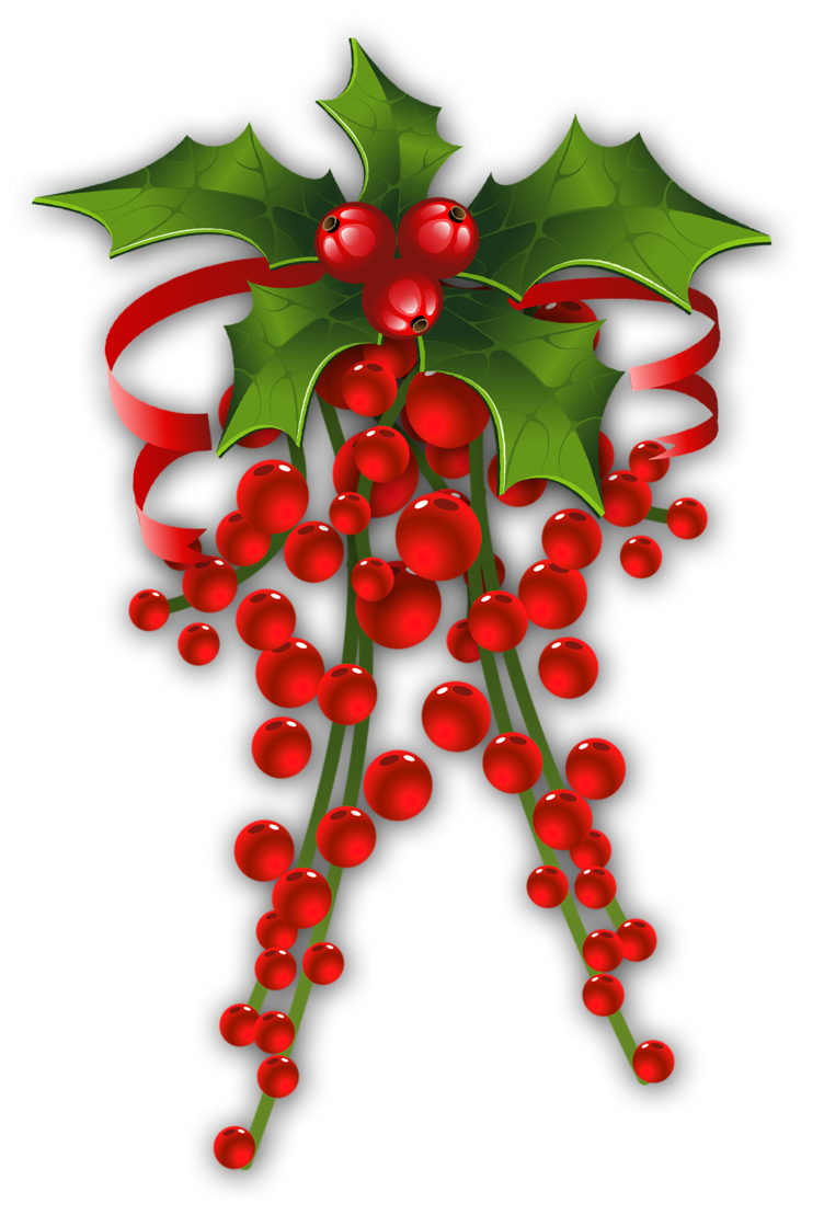 Holy clipart mistletoe. Christmas holly clip art