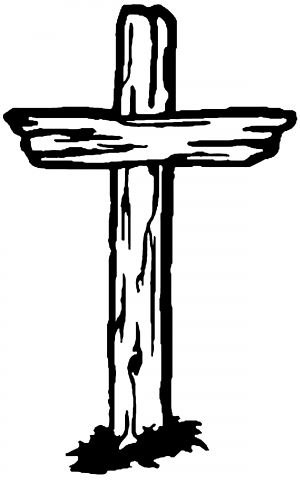 holy clipart rugged cross