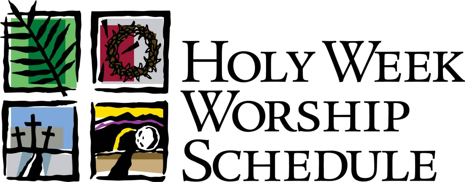 Holy week clipart colour. Family at getdrawings com