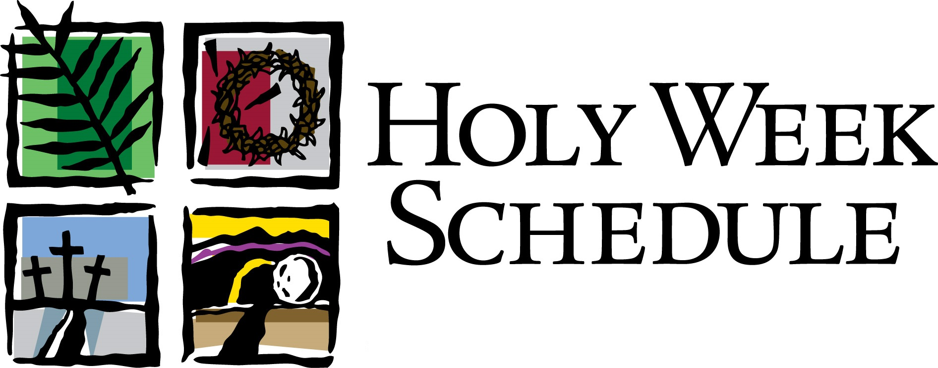 Lent clipart holy thursday. Week activities and services