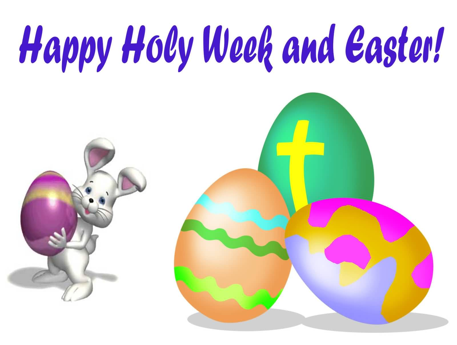 Holy week clipart happy. Most adorable greeting