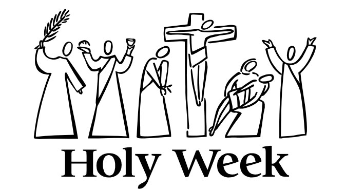 Holy week clipart happy. The cast of characters
