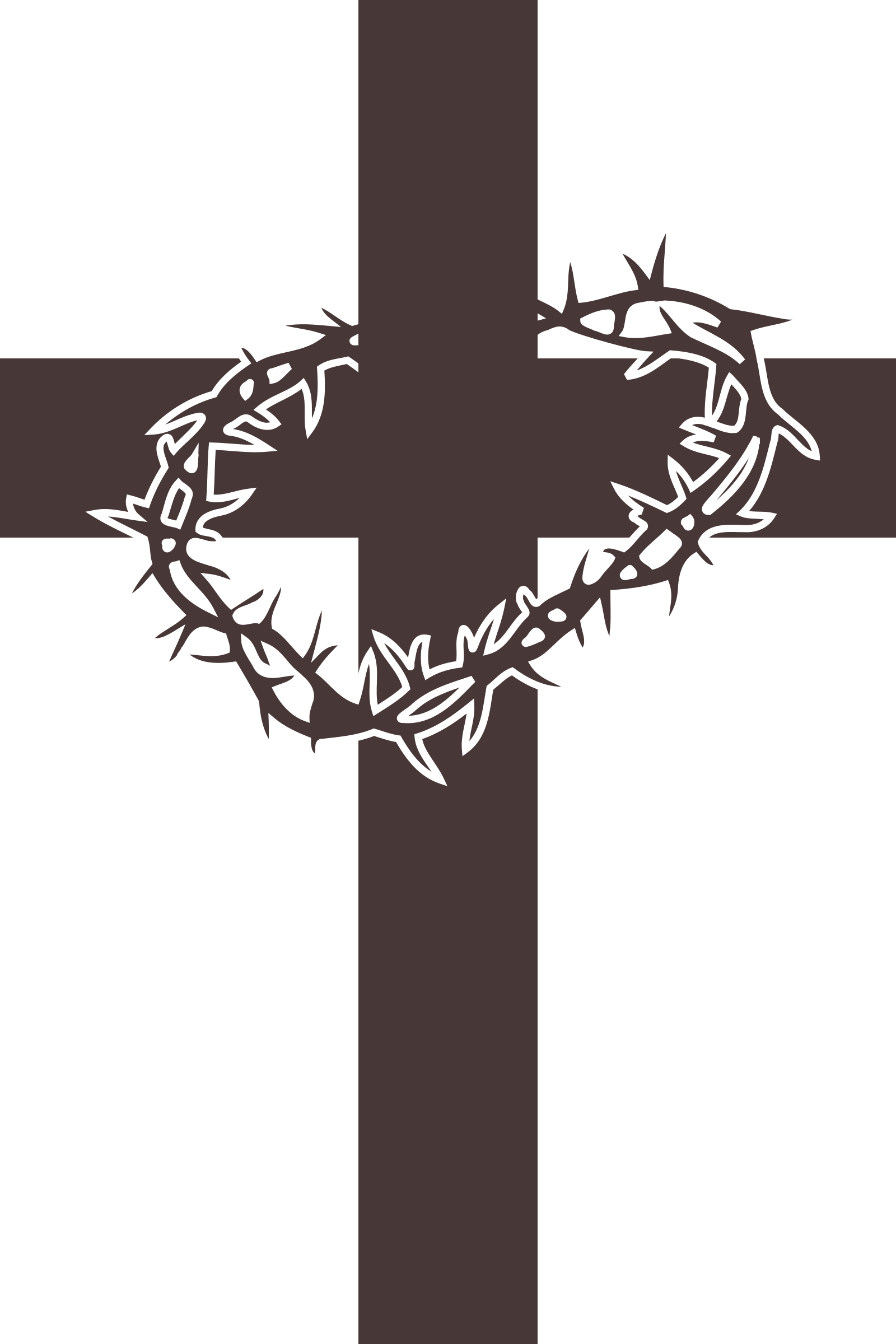 Holy week clipart crown thorns. Services peace lutheran church