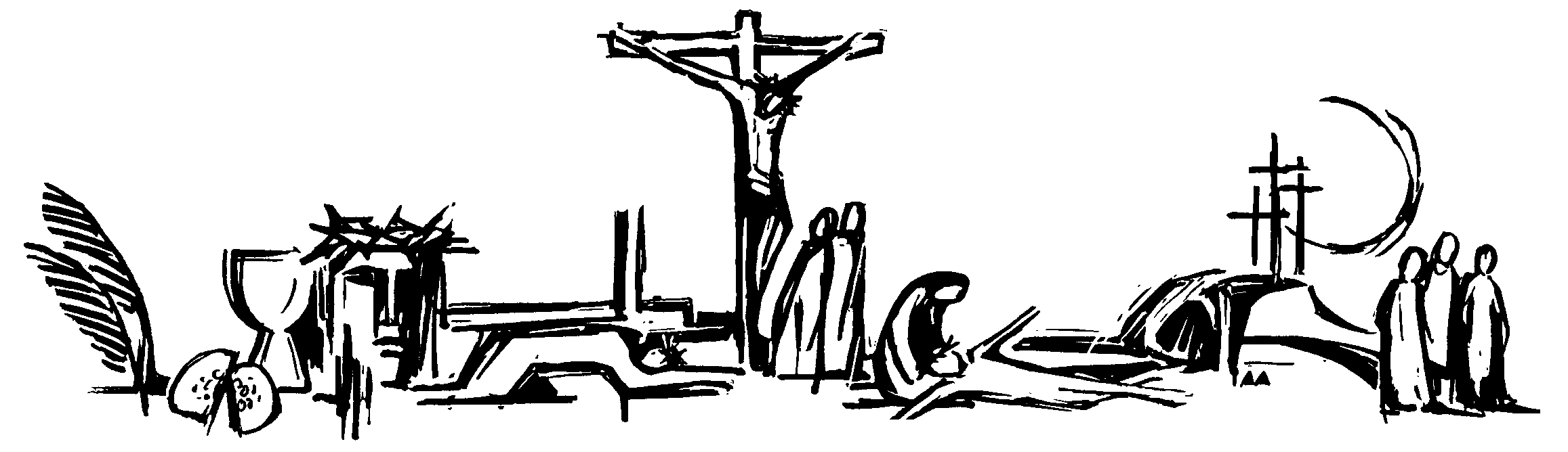 Holy week clipart lent symbol. Test your easter bible