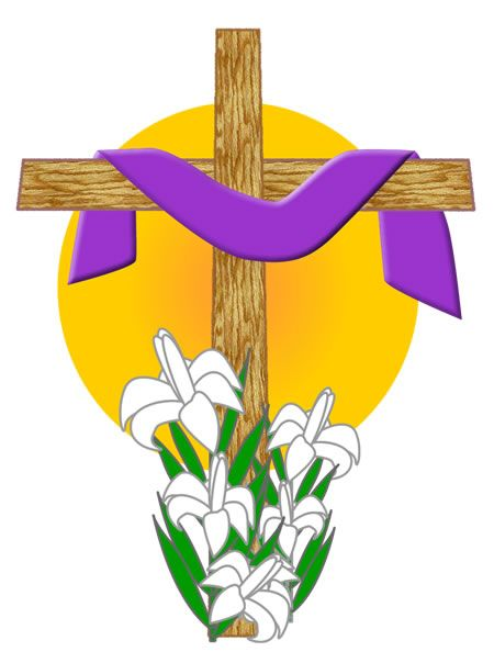 Holy week clipart lent symbol. Easter symbols lilies are