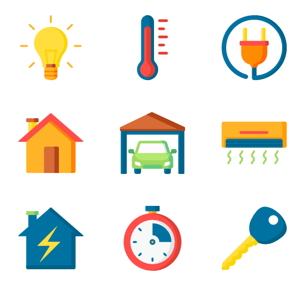 Home automation png. Icon packs vector