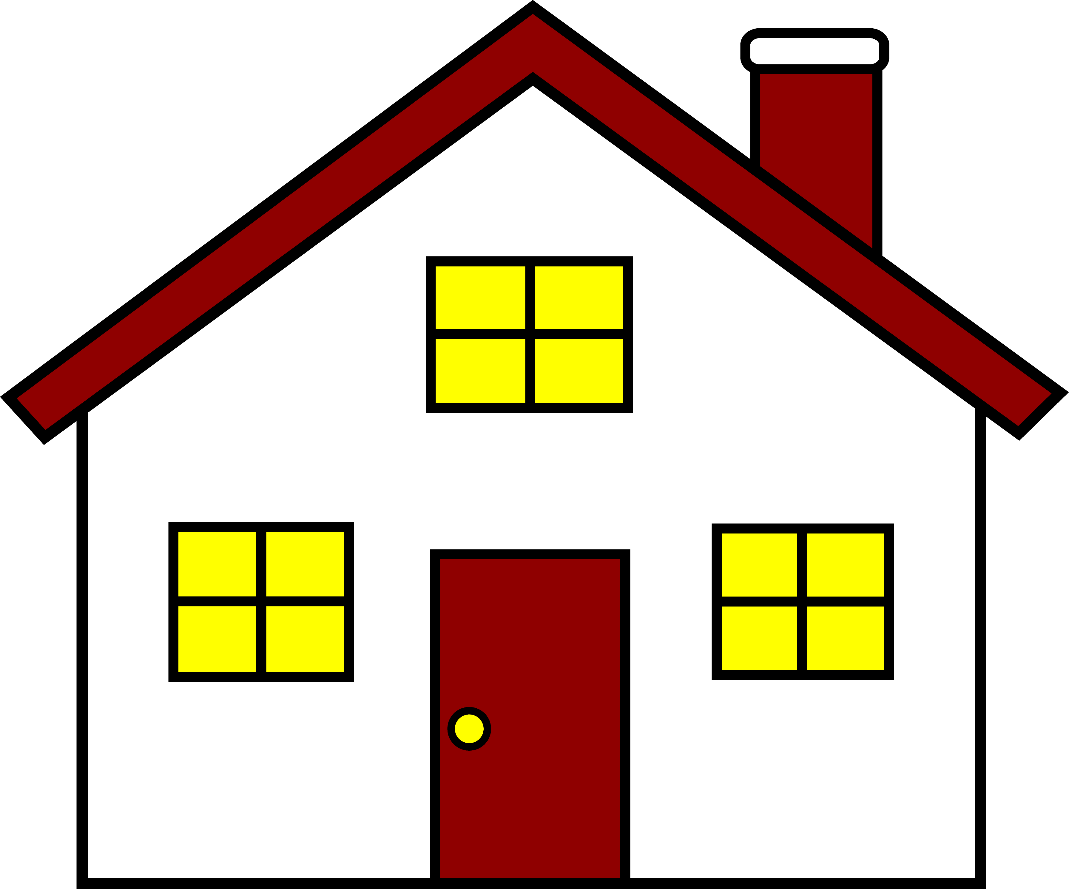 home clipart cottage