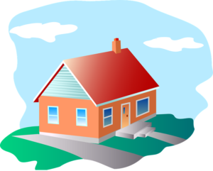 Home clipart condo. A house or which