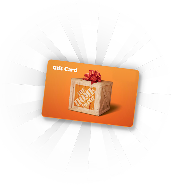 home depot gift card png