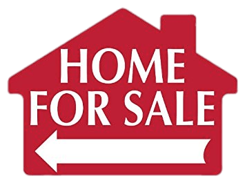For sale png. Home sign transparent stickpng
