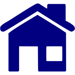 Home icon blue png. Navy free icons