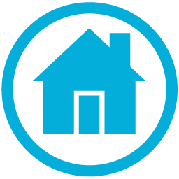 Home icon blue png. Image