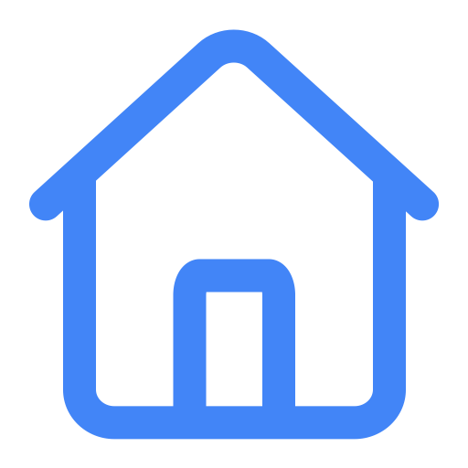 Home icon blue png. Or and vector for