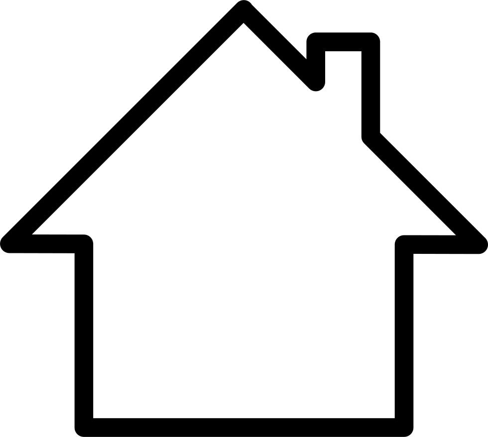 White Home Svg Png Icon Free Download