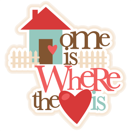 Home is where the heart is png. Svg cutting files for