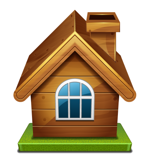 House png image. Wooden hd mart