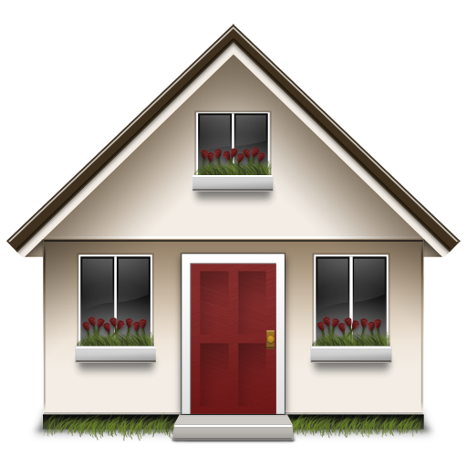Home png image. Royalty free stock images