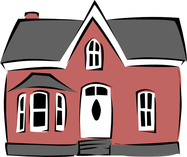Home transparent animated. Small house clip art