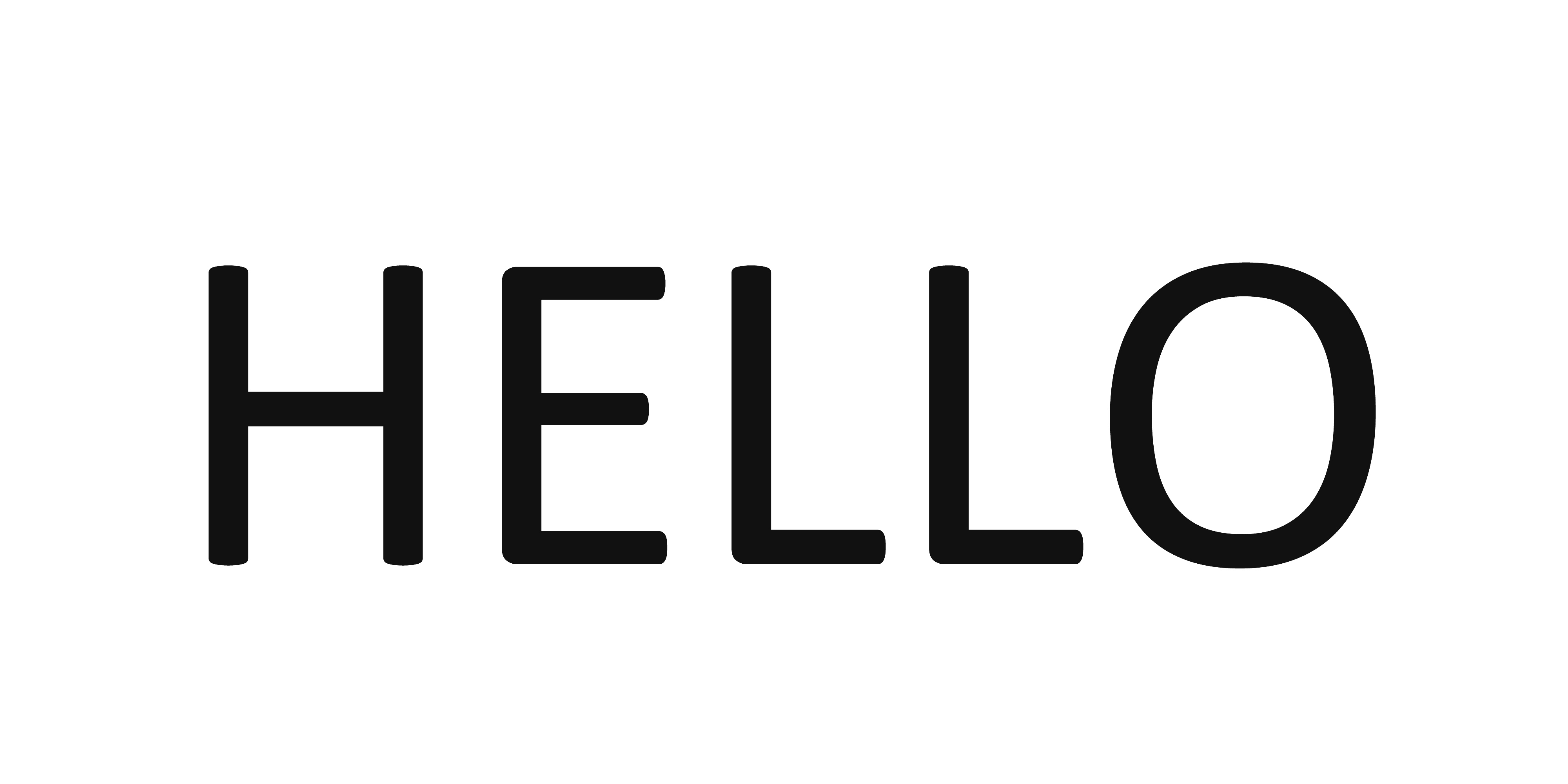 Transparent word. Hello png  banner library download