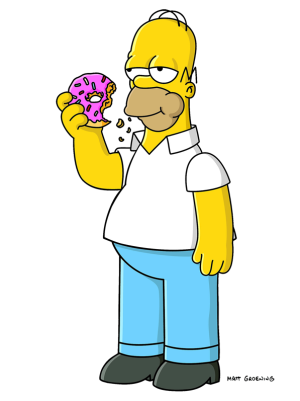 Homer donut png. Image eating unmariowiki fandom