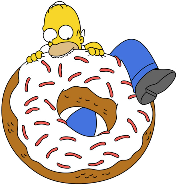 Homer donut png. Image doughnut donuts wiki