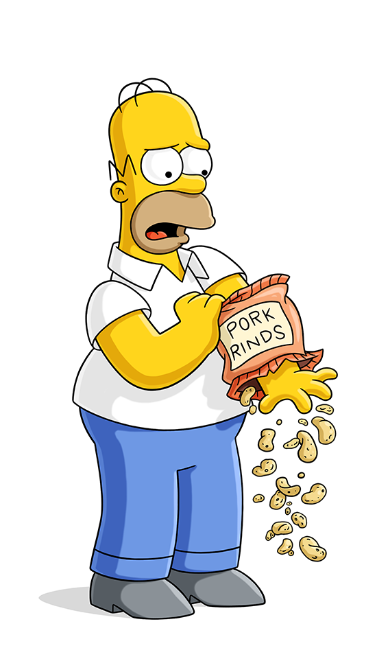 Homer donut png. Simpson simpsons world on