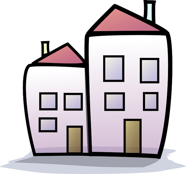 Homes vector apartment. Building clipart at getdrawings