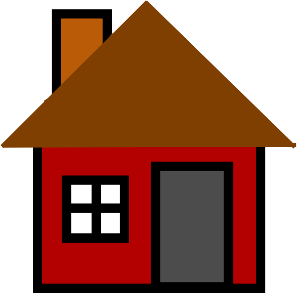 Home at clker com. Homes vector clip art transparent