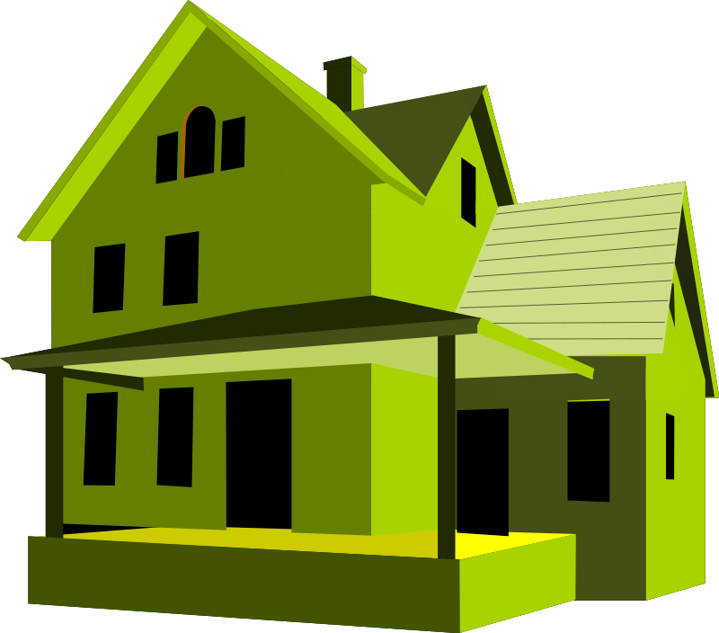 Homes vector green. House free stock photo