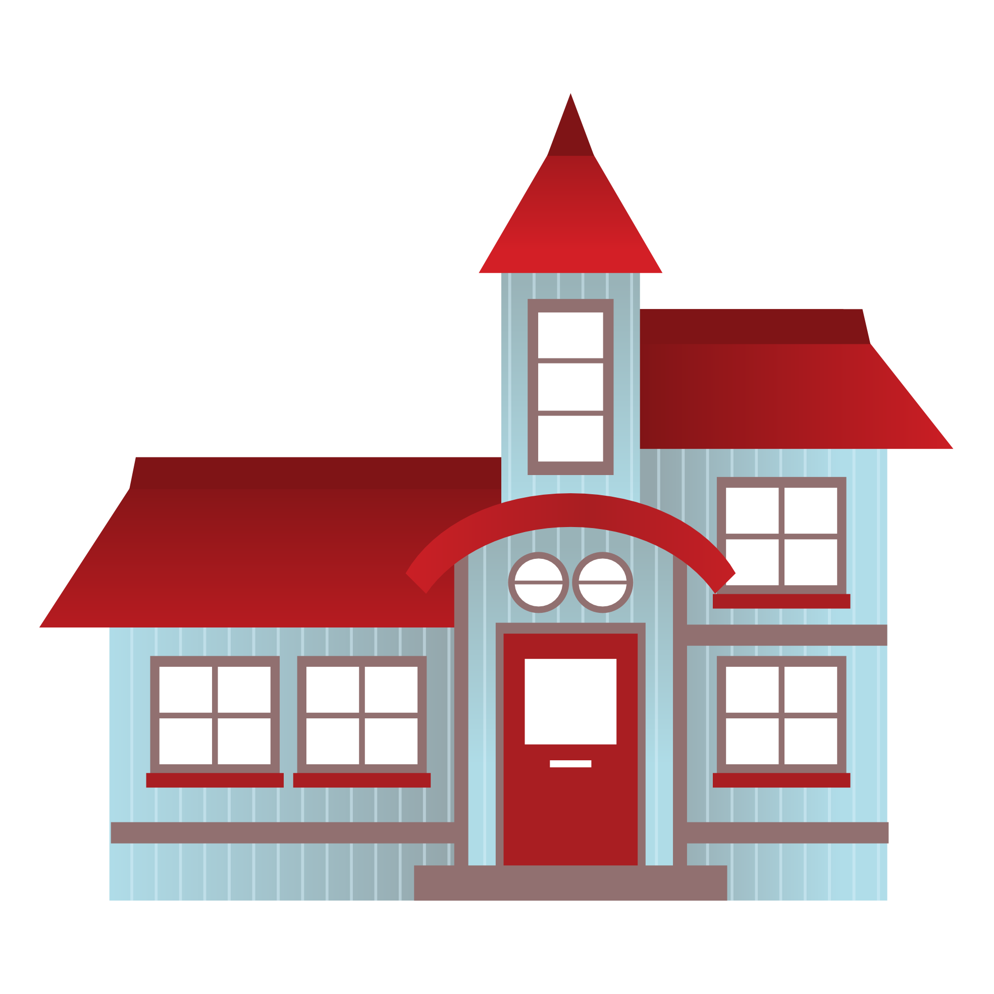 Homes vector illustration. Free house download clip