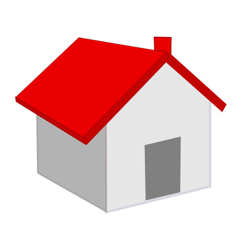 Homes vector landscape. House free stock photo