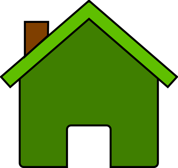 Homes vector puzzle. Collection of free houses