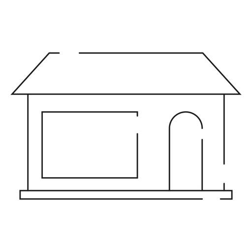 Home transparent simple. Line icon png svg