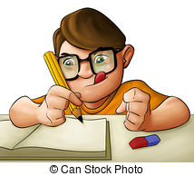 And stock illustrations vector. Homework clipart clip free